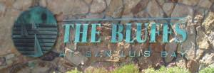 The Bluffs San Luis Bay Entrance logo