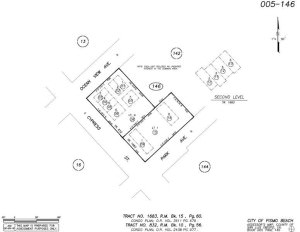 005146009-015 APN Map Park Ave Townhomes