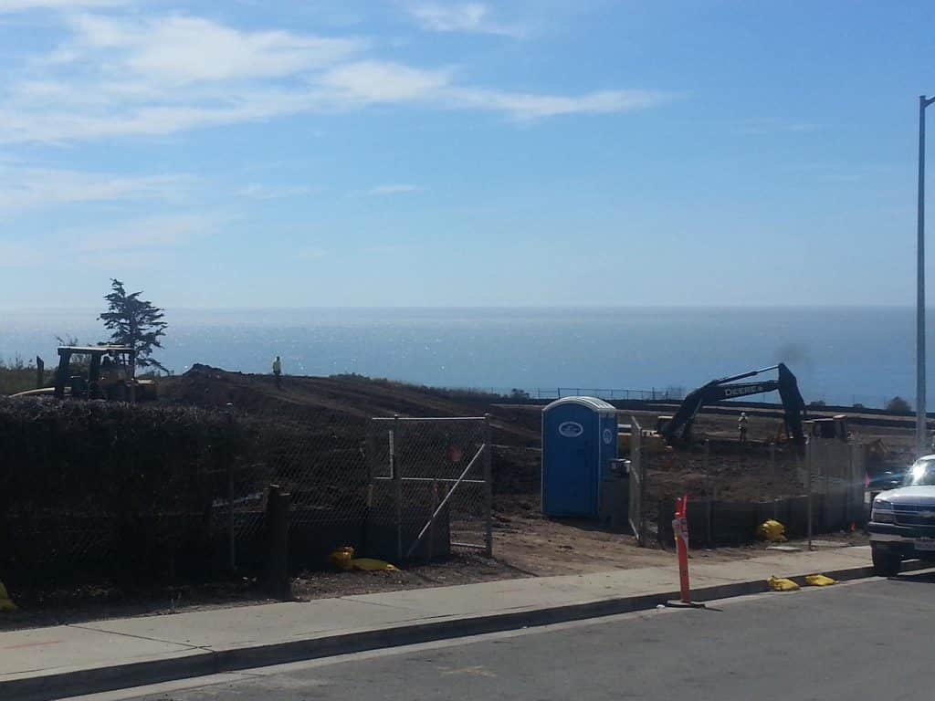 Sunset Beach Estates Shell Beach California work has started